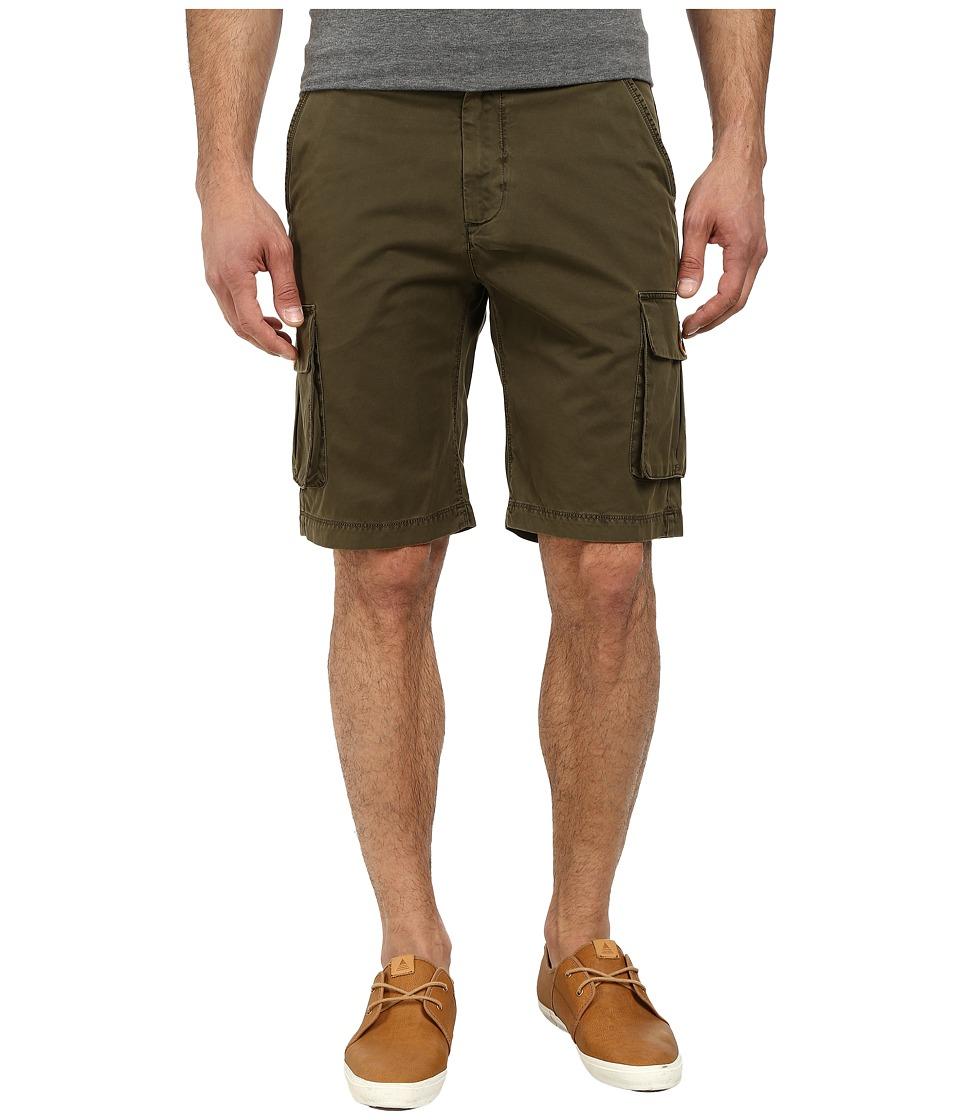 Robert Graham - Globe Trotter Woven Shorts (Olive) Men's Shorts