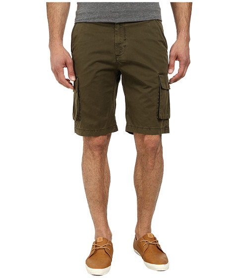 Robert Graham - Globe Trotter Woven Shorts (Olive) Men's Shorts