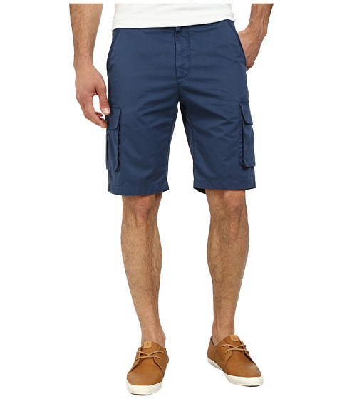 Robert Graham - Globe Trotter Woven Shorts (Dark Navy) Men
