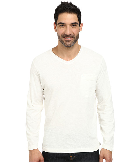 Robert Graham - Beach Blast Long Sleeve Knit T-Shirt (White) Men
