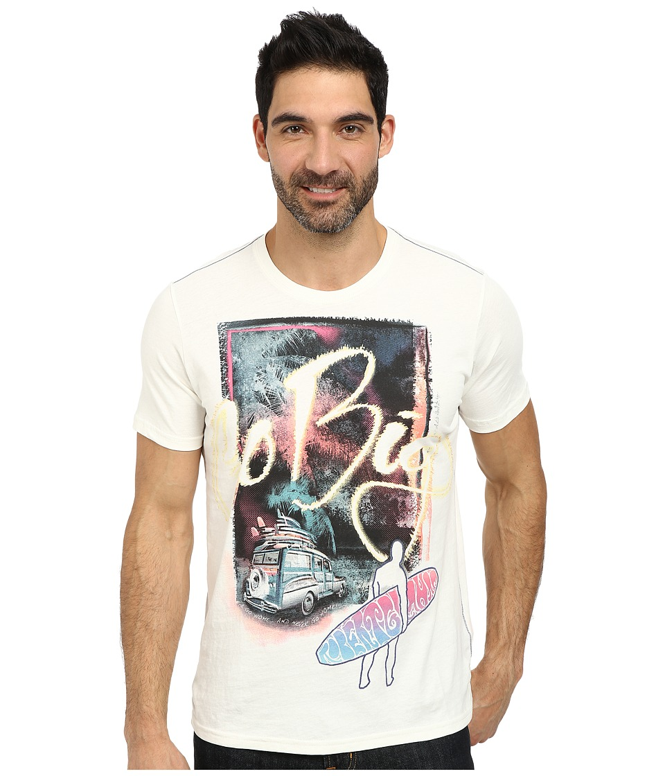Robert Graham - Big Surfin Short Sleeve Knit T-Shirt (White) Men's T Shirt