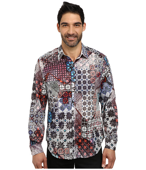 Robert Graham - Nelson Long Sleeve Woven Shirt (Multi) Men's Long Sleeve Button Up