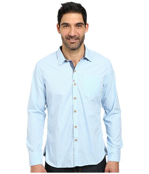 Robert Graham - Sacramento Long Sleeve Woven Shirt (Light Blue) Men's Long Sleeve Button Up