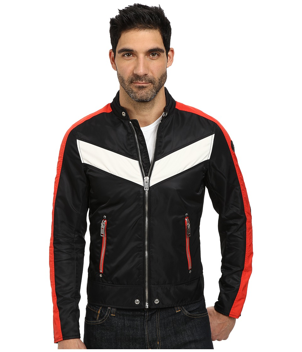 Diesel - J-Red Jacket (Black) Men's Coat