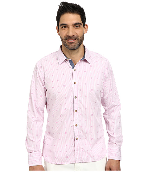 Robert Graham - Santa Monica Long Sleeve Woven Shirt (Light Pink) Men