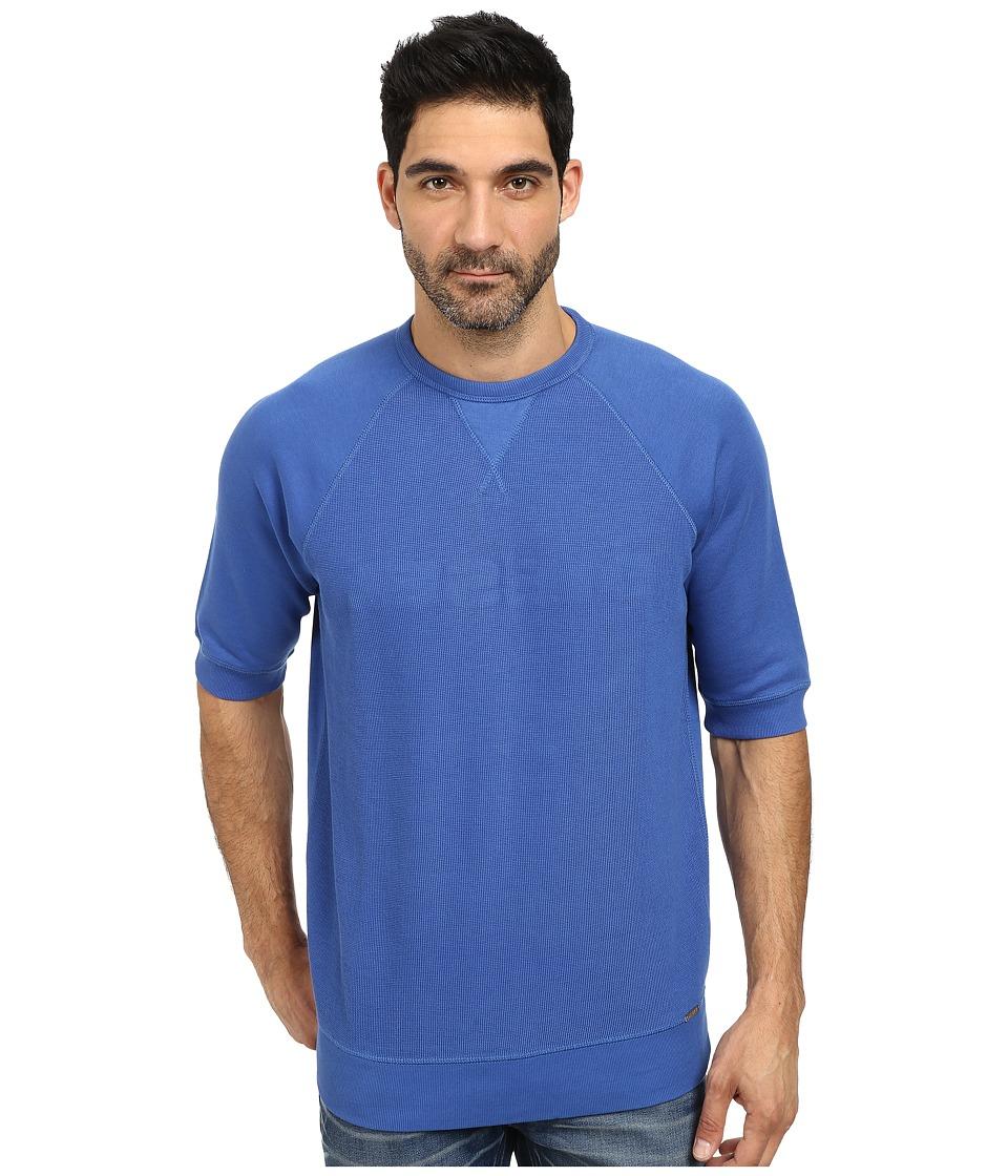 Diesel - S-Japa Sweatshirt (Cobalt) Men's Sweatshirt