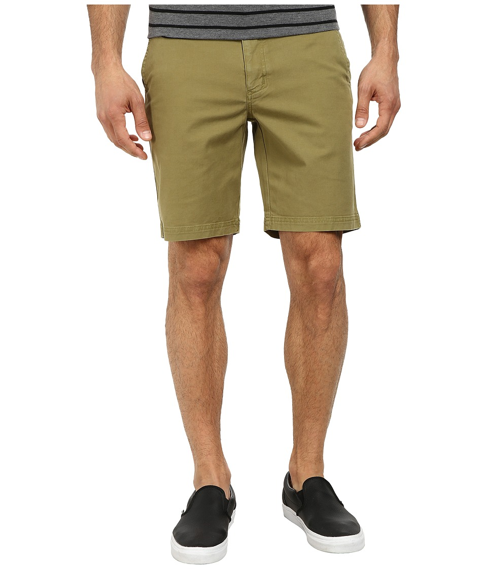 Robert Graham - Trekkin 2 Woven Shorts (Olive) Men's Shorts