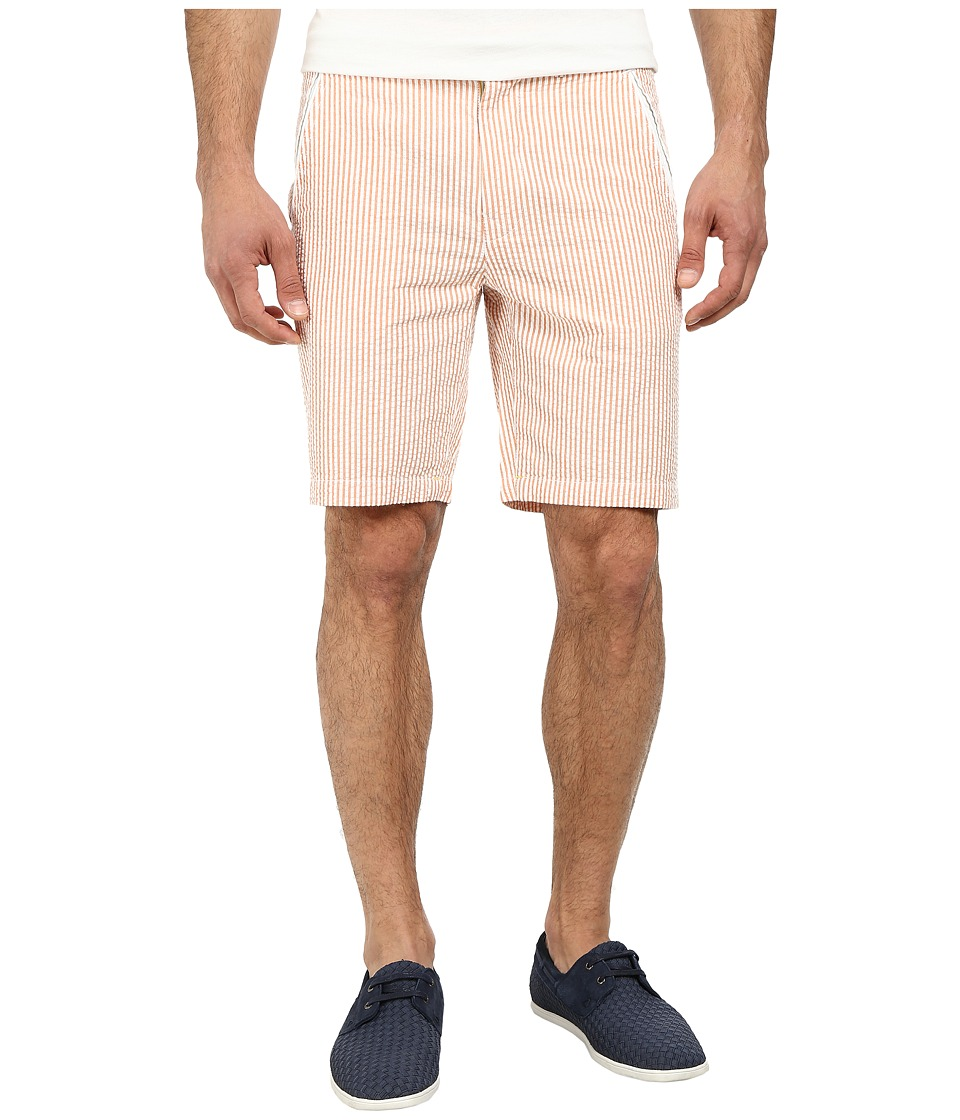 Robert Graham - Hawkes Ball Shorts (Orange) Men's Shorts