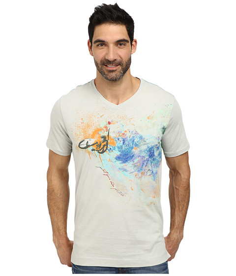 Robert Graham - Paint Your Own Pic Tee (Light Grey) Men's T Shirt