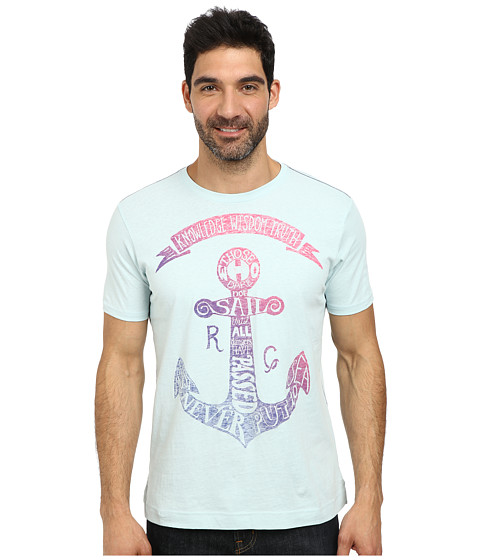 Robert Graham - Anchor Tee (Sky) Men's T Shirt