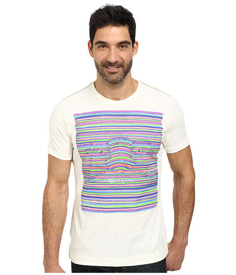 Robert Graham - Bowler Hat Tee (White) Men's T Shirt