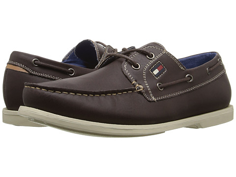 Tommy Hilfiger - Aldez (Coffee Bean Crazy Horse PU) Men's Shoes