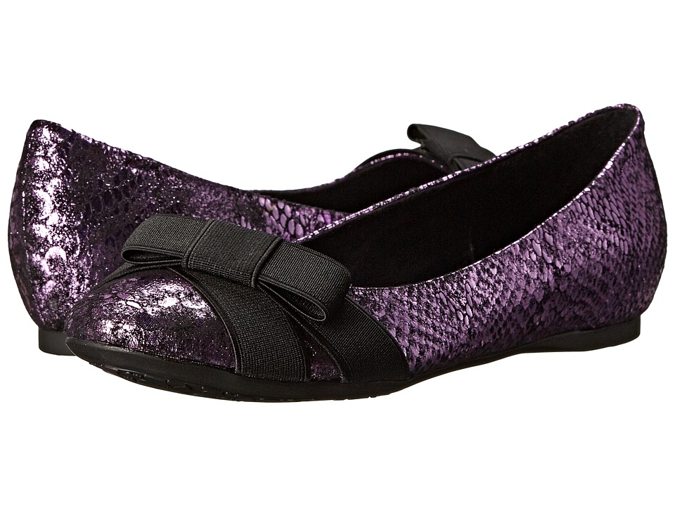 CL By Laundry Amuse (Purple/Black) Women's Flat Shoes. On sale ...