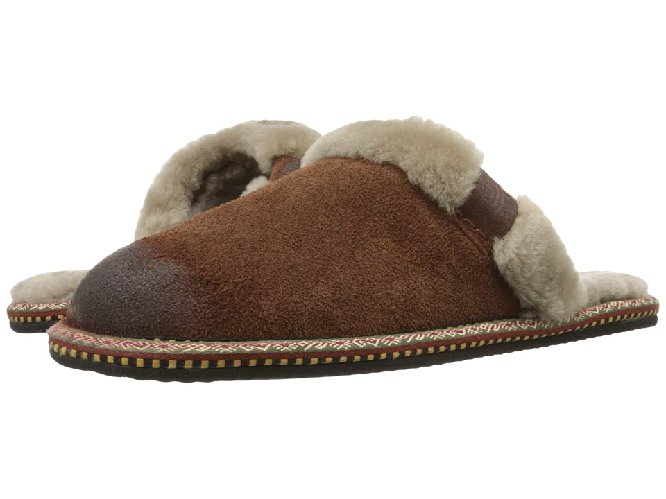 Frye - Denise Slipper (Brown) Women's Slippers