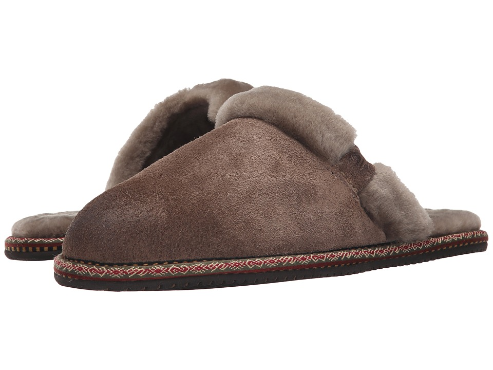 Frye - Denise Slipper (Grey) Women's Slippers