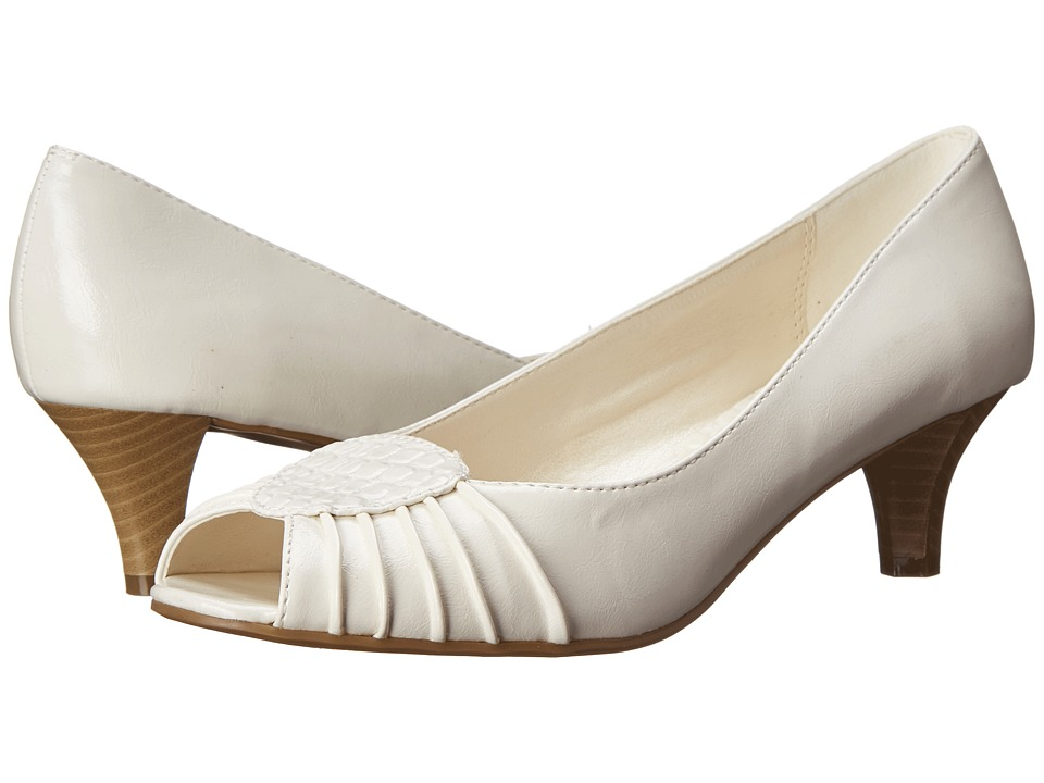 CL By Laundry - Join Genny (White) Women's 1-2 inch heel Shoes