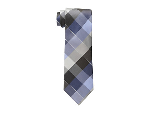 Kenneth Cole Reaction - Garden Plaid Tie (Taupe) Ties