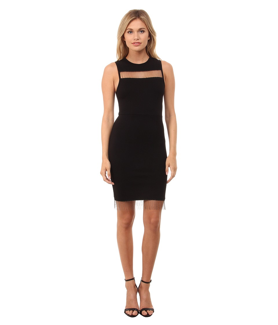 French Connection Slick Chain Dress 71EDI (Black) Women