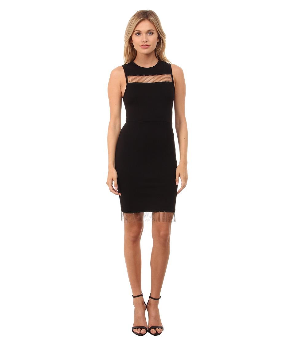 French Connection - Slick Chain Dress 71EDI (Black) Women's Dress