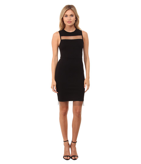 French Connection - Slick Chain Dress 71EDI (Black) Women