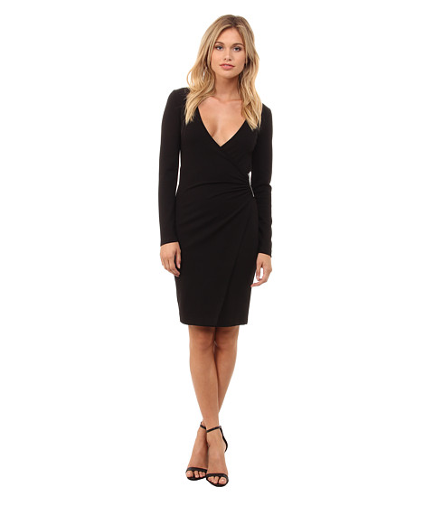 French Connection - Lula Stretch Dress 71EFK (Black) Women