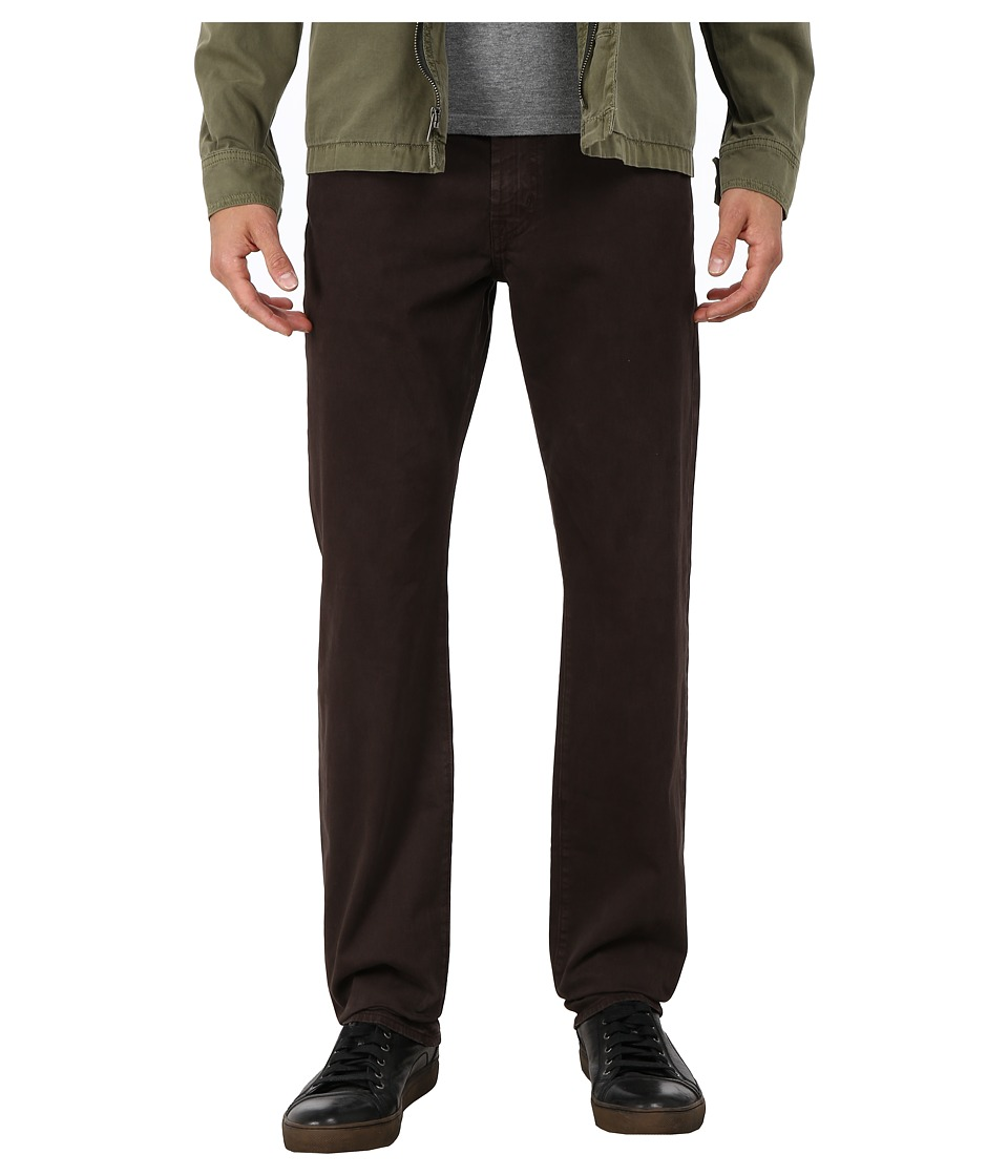 AG Adriano Goldschmied - Graduate Tailored Leg Pants in Sulfur Bitter Chocolate (Sulfur Bitter Chocolate) Men