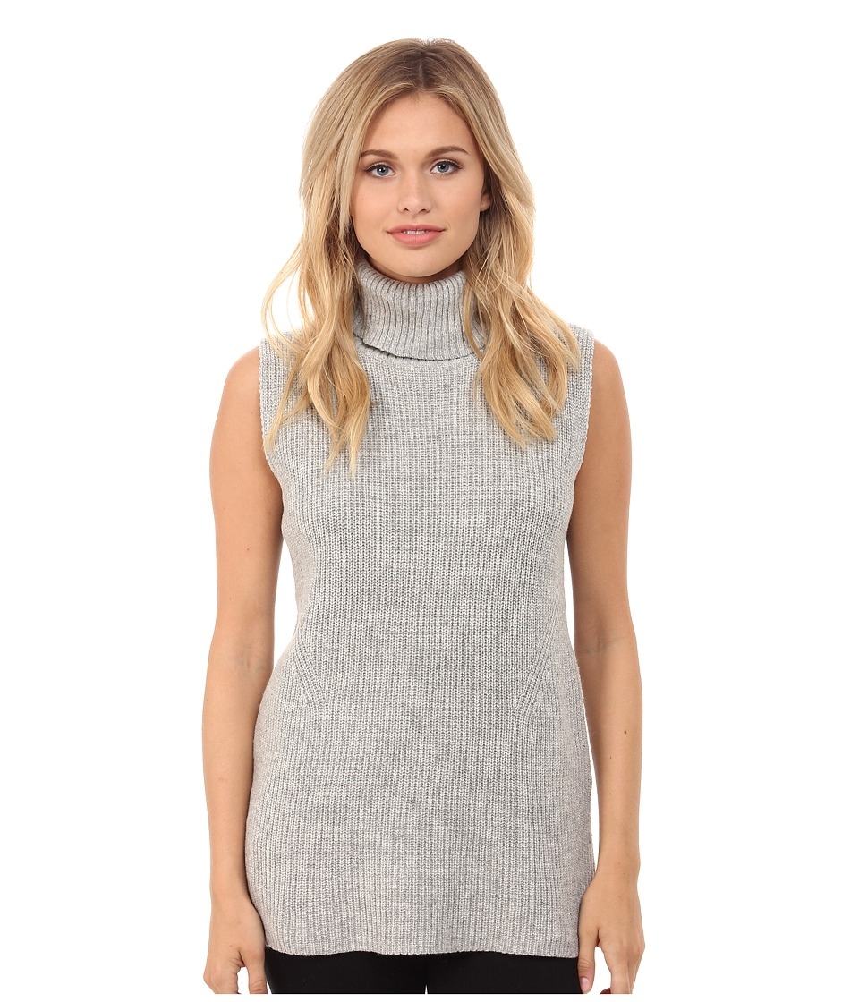 French Connection - Abel Knits Sweater 78EAZ (Light Grey Melange) Women's Sweater