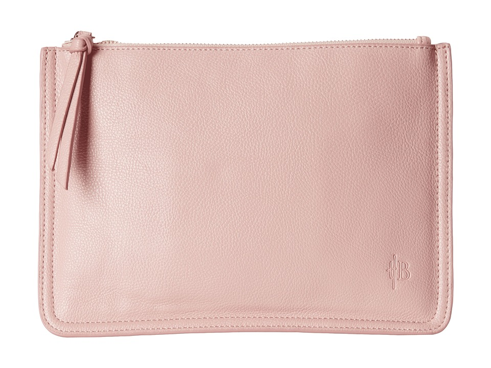 Mighty Purse - Vegan Leather Charging Clutch (Two-Tone/Soft Pink/Purple) Clutch Handbags