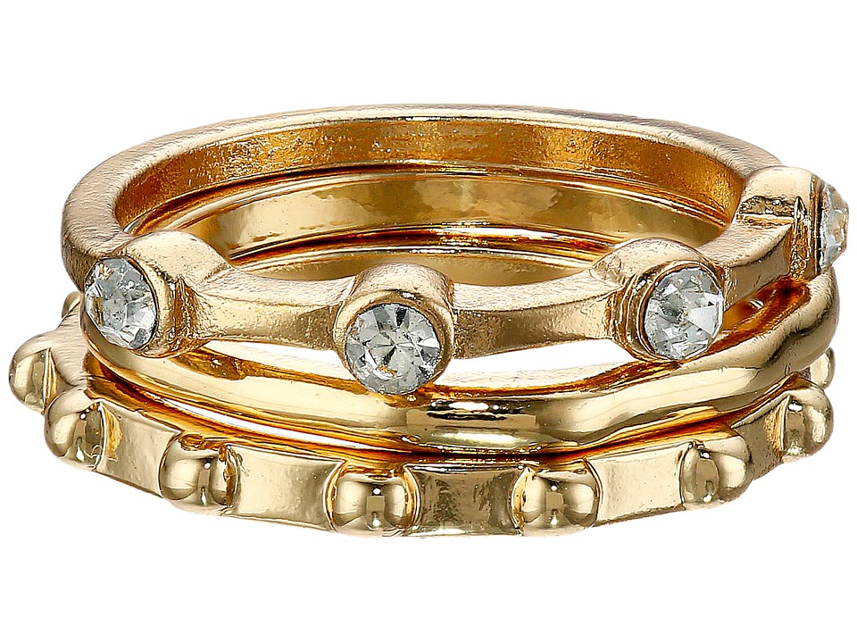 Sam Edelman - 3 Stack Midi Ring (Gold) Ring
