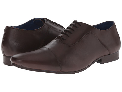 Dune London - Renshaw (Brown Leather) Men