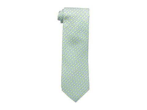 Tommy Hilfiger - Down Stream Print Tie (Green) Ties