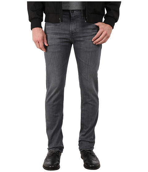 AG Adriano Goldschmied - Matchbox Slim Straight Leg Denim in Grey Dusk (Grey Dusk) Men