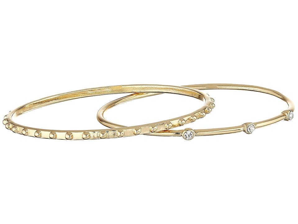 Sam Edelman - Two-Piece Thin Bangles Bracelet (Gold) Bracelet
