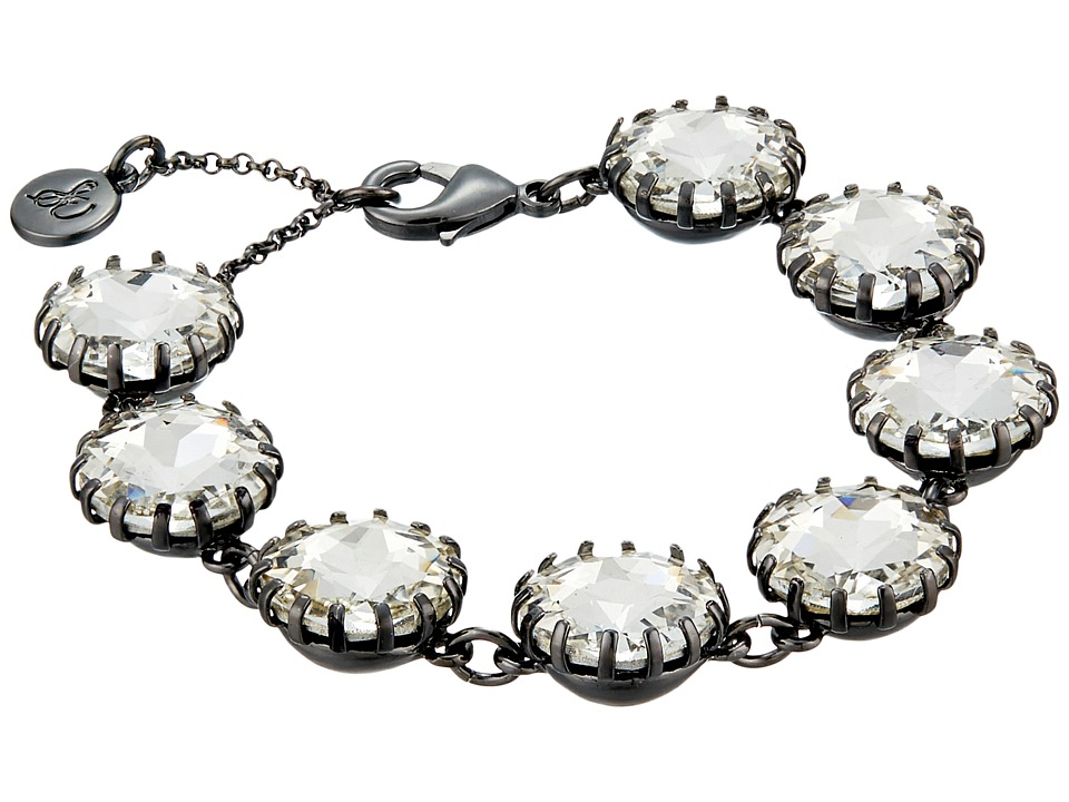 Sam Edelman - Crystal Line Bracelet (Hematite/Crystal) Bracelet
