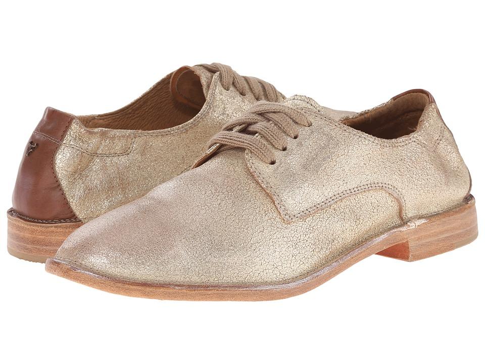 Trask - Ana (Gold Italian Brush-Off/Teak Calf) Women's Shoes