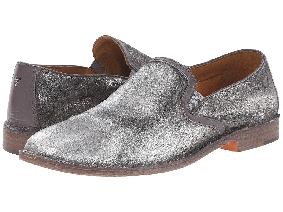 Trask - Ali (Silver Italian Brush-Off/Gray Calf) Women's Shoes