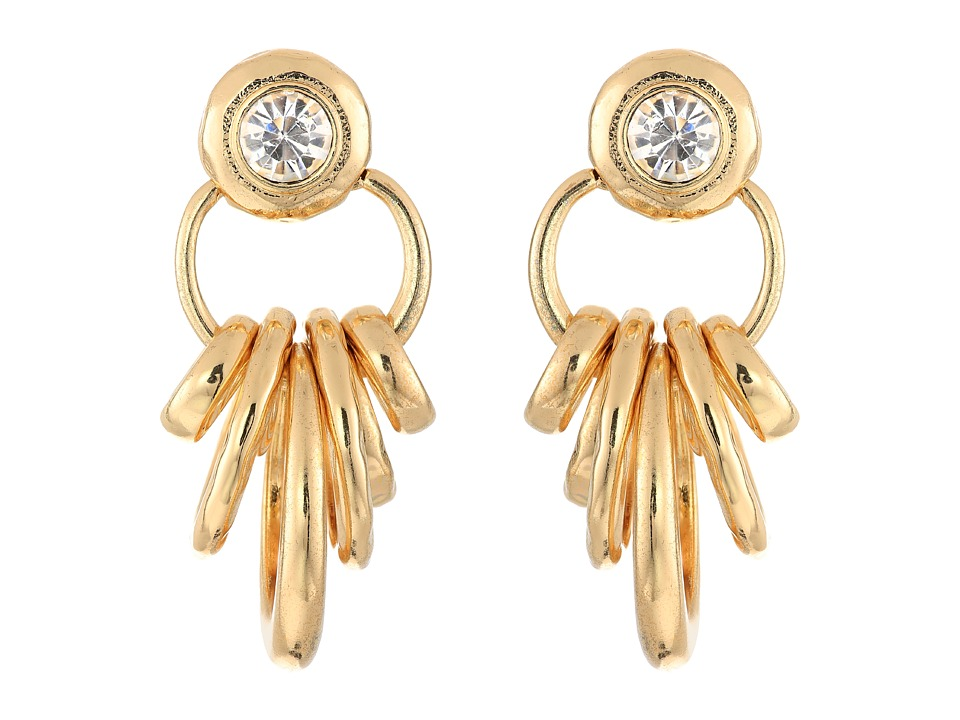 Sam Edelman - Ring Doorknocker Earrings (Gold) Earring