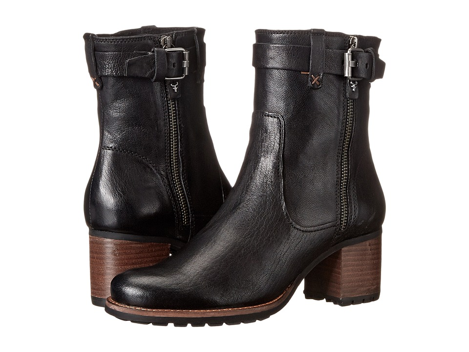Trask - Madison (Black Washed Shepskin) Women's Boots