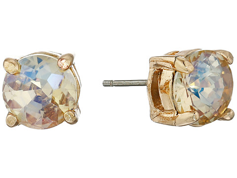 Sam Edelman - Reece Stone Stud Earrings (Ab/Gold) Earring