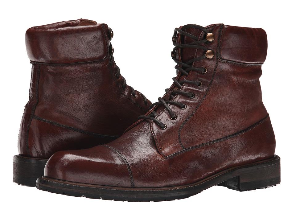 Trask - Ronan (Cognac Buffalo Calf) Men's Dress Boots