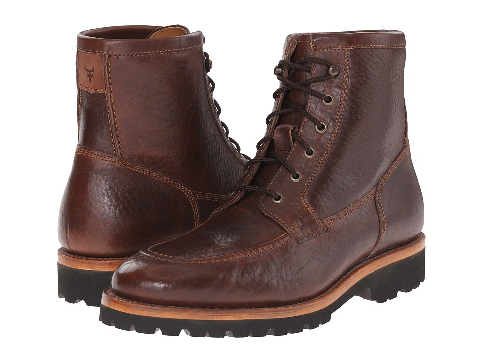 Trask - Garfield (Bourbon American Bison) Men's Dress Boots