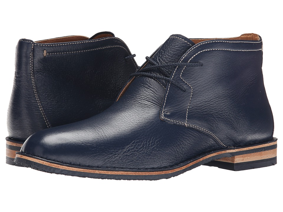 Trask - Brady (Navy Norwegian Elk) Men's Shoes