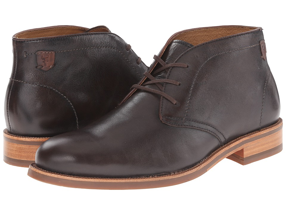 Trask - Flint (Bourbon Steer) Men's Lace-up Boots
