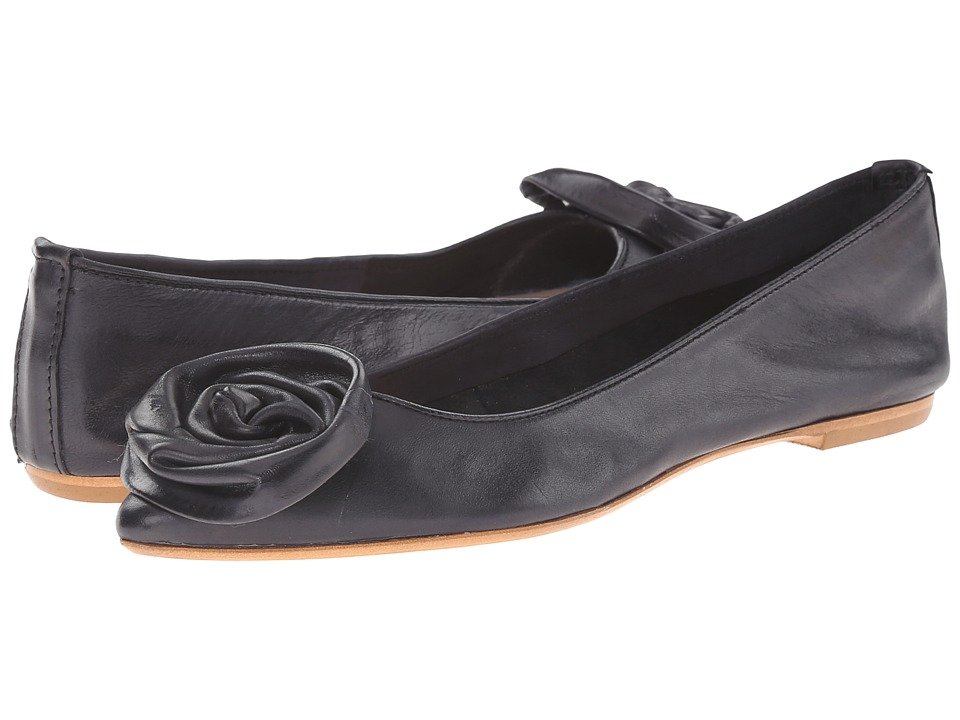 Massimo Matteo - Daniela (Black) Women's Dress Flat Shoes
