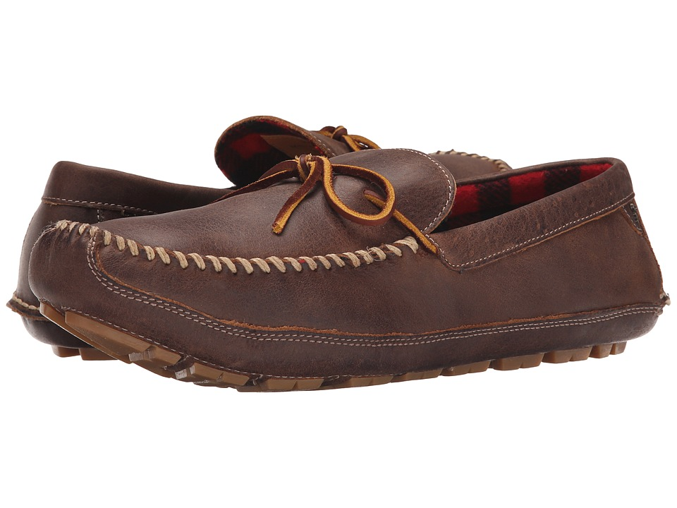 Trask - Polson (Walnut American Steer) Men's Slippers