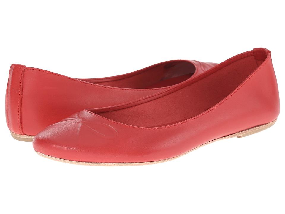 Massimo Matteo - Debora (Red) Women's Flat Shoes