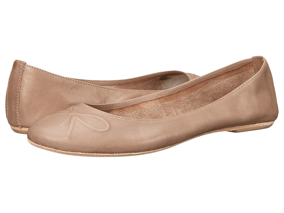 Massimo Matteo - Debora (Taupe) Women's Flat Shoes