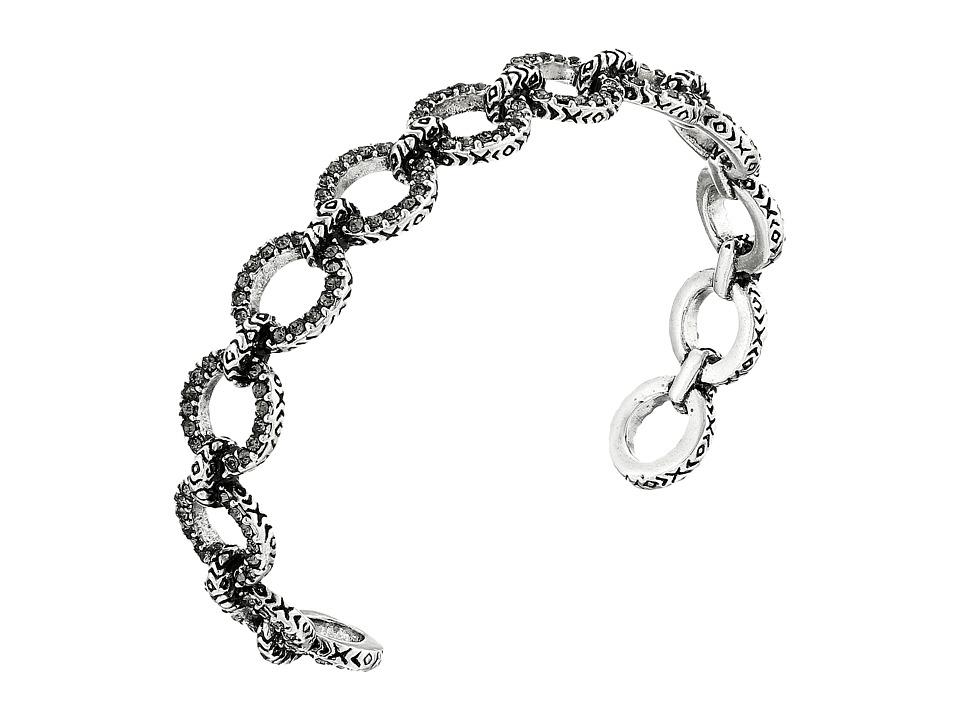 House of Harlow 1960 - Eternal Link Cuff Bracelet (Silver) Bracelet