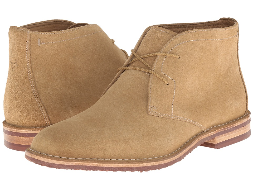 Trask - Brady (Camel Water Resistant Suede) Men's Shoes