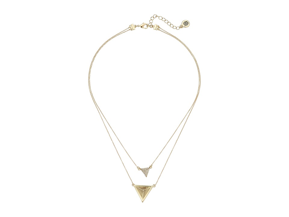 House of Harlow 1960 - Temple Pendant Necklace (Gold) Necklace